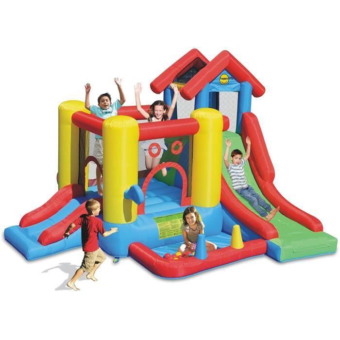 AIRE DE JEUX GONFLABLE JURATOYS Chateau / Aire De Jeux Gonflable Play Hou