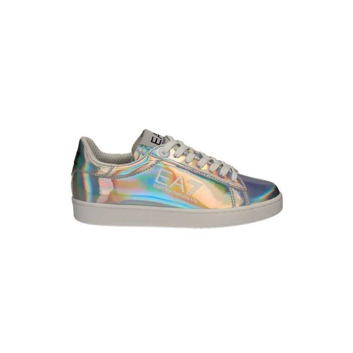 Sneakers métallisées Classic fashion 278079 7P299 -EMPORIO ARMANI Gris Homme