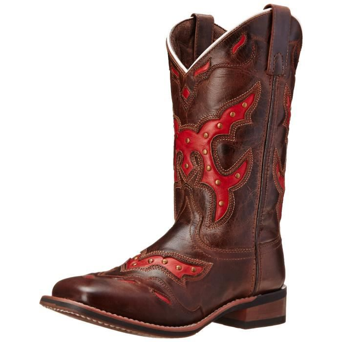 Paprika Western Boot NO53O Taille-38 1-2