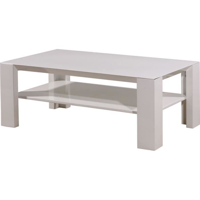 table basse 45 x 45 blanche