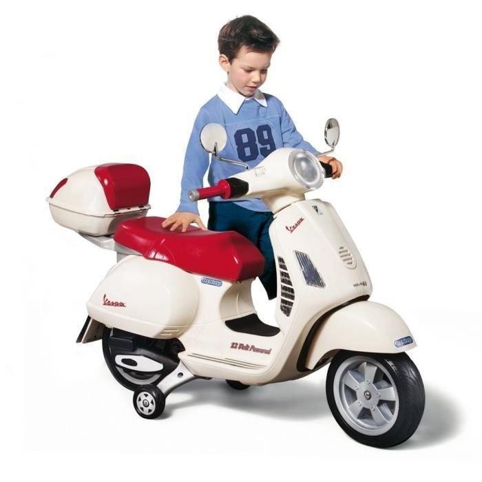 75e79a3b085ee PEG PEREGO Vespa Enfant Scooter Electrique Enfant 12 Volts - Achat ...
