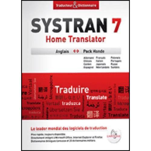 7 PREMIUM TRANSLATOR SYSTRAN TÉLÉCHARGER GRATUITEMENT