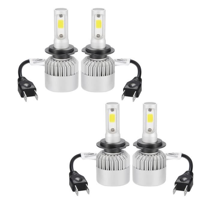 PHARES - OPTIQUES XCSOURCE 2 paires 30000LM 200W CREE LED phare de v