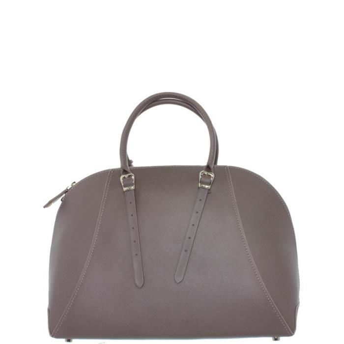 Sac Guess Lady Luxe en cuir ref_guess36065-taupe