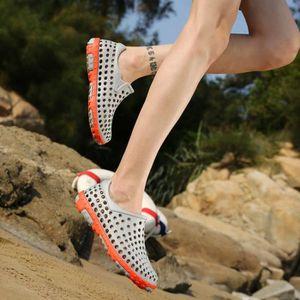 chaussures multisport Homme Plage d'étéChaussons sport de grande taille (4) Couleur marron taille9.5 zwmYiBF0K2