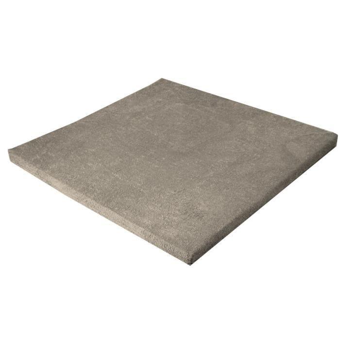 LOOPING Tapis de parc confort Dim : 87 x 87 cm Taupe