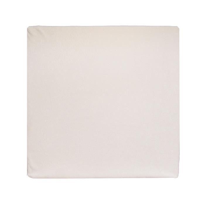 LOOPING Tapis de parc confort Dim : 87 x 87 cm Vanille