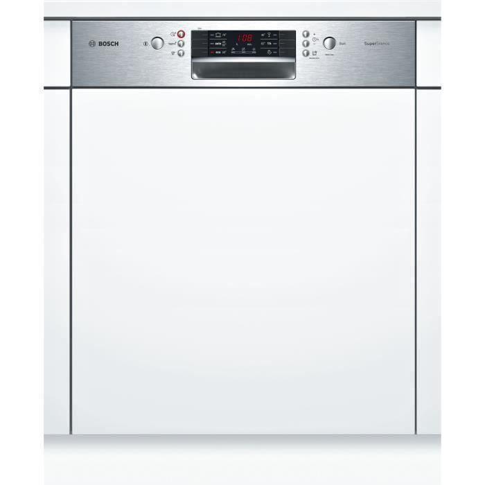 BOSCH SMI46KS01E - Lave vaisselle encastrable - 13 couverts - 46dB - A++ - Larg 60cm - Moteur induct