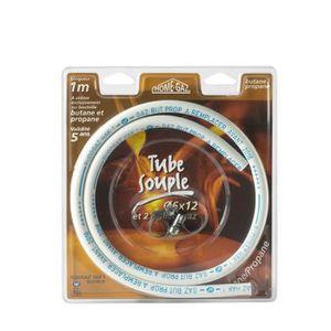 PIÈCE CHAUFFAGE CLIM BRASERO TYPE TUBE 6X12 100 Tube souple NF butane/p