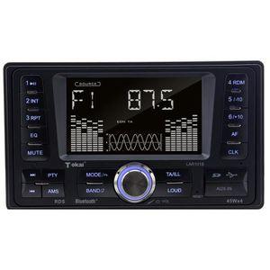 AUTORADIO TOKAI Autoradio 2 DIN LAR-101B AM / FM RDS Bluetoo