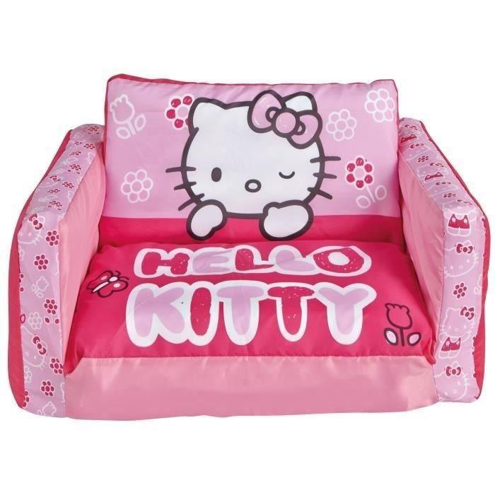 canape hello kitty achat vente jeux et jouets pas chers. Black Bedroom Furniture Sets. Home Design Ideas