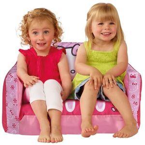 fauteuil hello kitty achat vente jeux et jouets pas chers. Black Bedroom Furniture Sets. Home Design Ideas