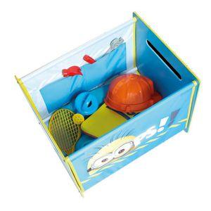 coffre a jouet tissu achat vente jeux et jouets pas chers. Black Bedroom Furniture Sets. Home Design Ideas
