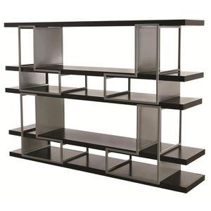 etagere metal noir achat vente etagere metal noir pas cher cdiscount. Black Bedroom Furniture Sets. Home Design Ideas