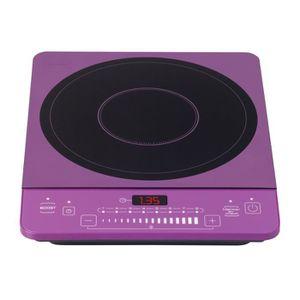 PLAQUE POSABLE BRANDT TI1801P Plaque induction posable - Violet