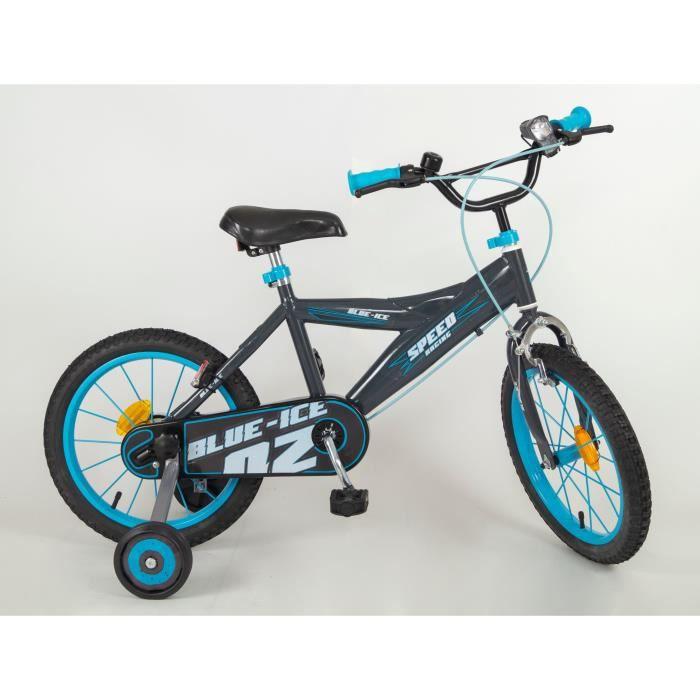 """VÉLO ENFANT Vélo Ice 14"""" - Enfant Garçon - Bleu"""