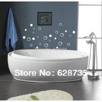 Salle de bain tanche stickers carrelage 50 bulles de savon d coration salle de bain mur - Citation salle de bain ...