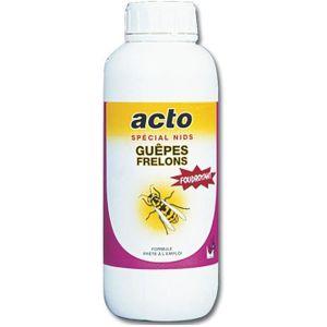 RÉPULSIF NUISIBLES MAISON ACTO insecticide liquide Guêpes et Frelons 1L