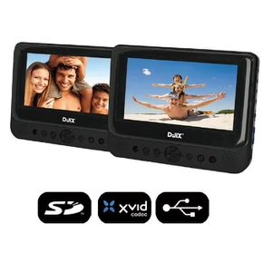 LECTEUR DVD PORTABLE D-JIX PVS 902-59LDP Double lecteur DVD portable 9