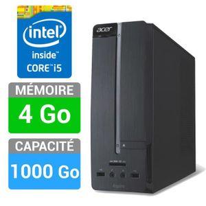 UNITÉ CENTRALE  Acer PC de Bureau Aspire XC-605-020