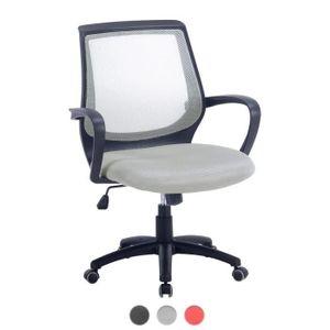 CHAISE DE BUREAU Kayelles Chaise de bureau reglable tissu maille LA