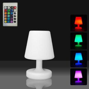 LAMPE A POSER lampe de table à led et télécommande 16 couleurs