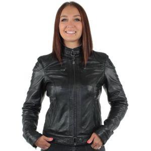 plus gros rabais meilleure collection comment trouver Blouson en cuir femme - Achat / Vente Blouson en cuir Femme ...