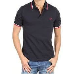 POLO POLO FRED PERRY HOMME BLEU MARINE SLIM FIT