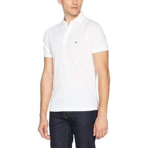 POLO Polo Tommy Hilfiger Slim Fit Blanc.