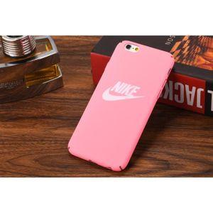 coque iphone 6 plus nike rose