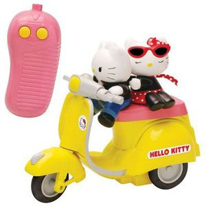 VOITURE - CAMION Véhicule radio commandé - Scooter Hello Kitty