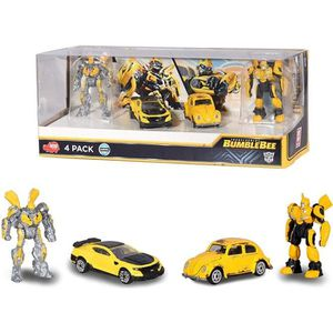 FIGURINE - PERSONNAGE TRANSFORMERS M6 Giftpack 4 Pcs
