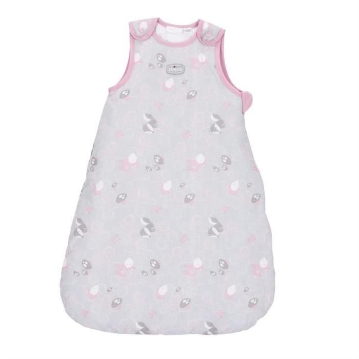 Gigoteuse sans manches idéale pour le sommeil de bébé avec ses petits motifs et son tissu doux.GIGOTEUSE - DOUILLETTE - TURBULETTE
