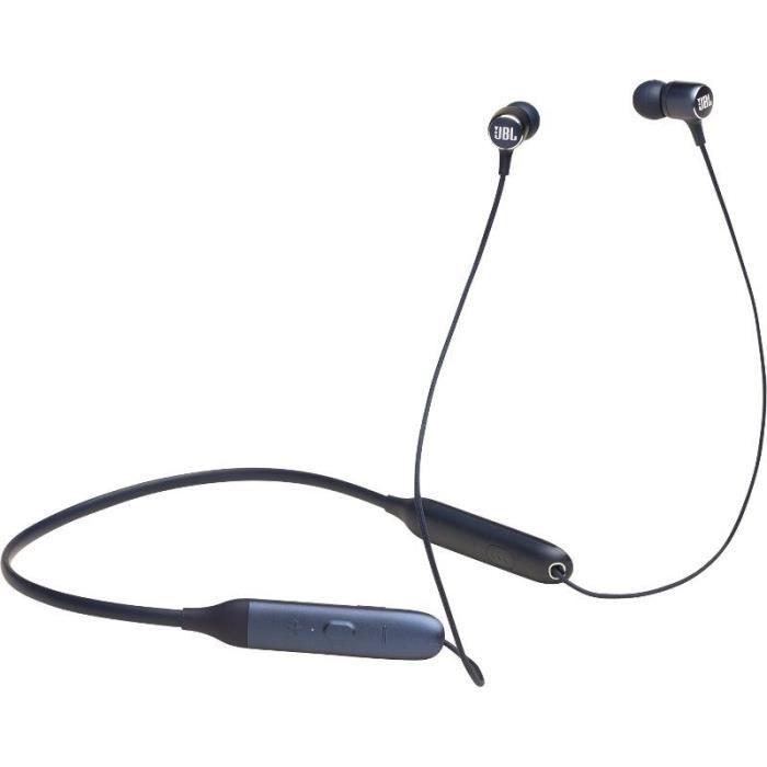 JBL Live 220BT Écouteurs tour de cou Bluetooth - Assistant vocal intégré - Bleu