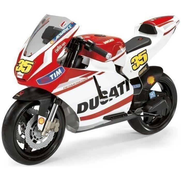 PEG PEREGO Mc0020 Moto Electrique Enfant Ducati Gp 12 Volts