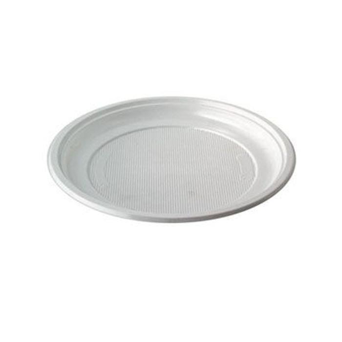 assiette plastique jetable blanche achat vente assiette plastique jetable blanche pas cher. Black Bedroom Furniture Sets. Home Design Ideas