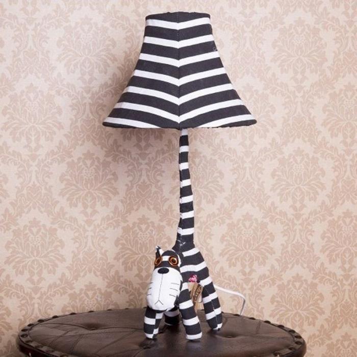Lits Chat Lampe Dessin D'enfants De Animé Enfant Table Mignon IDH29E