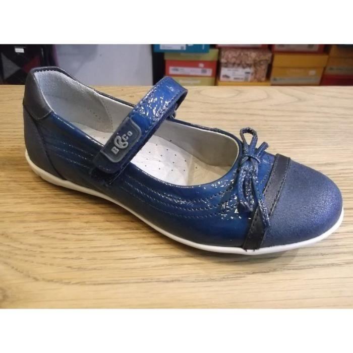 Chaussures enfants Babies filles à scratchs BANA P31