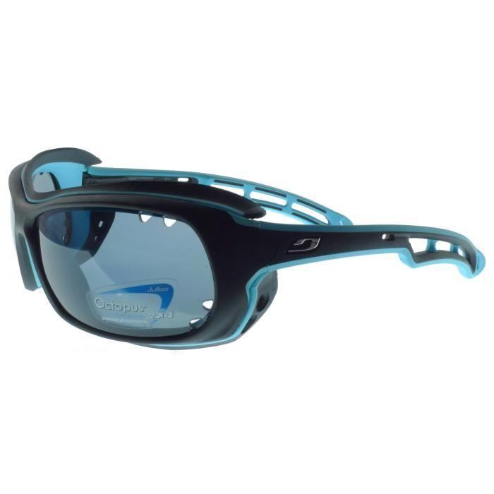 0dca74168fb50e Julbo Wave Lunettes de Soleil Flottant, Monture Noir, Bleu, Gris ...