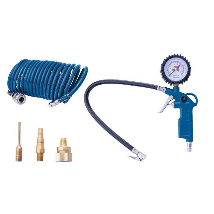 COMPRESSEUR Scheppach - Kit de 5 accessoires pneumatiques