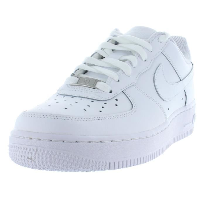 more photos abba4 f053d BASKET NIKE AIR FORCE ONE GS 314192 117 Baskets Homme Bla