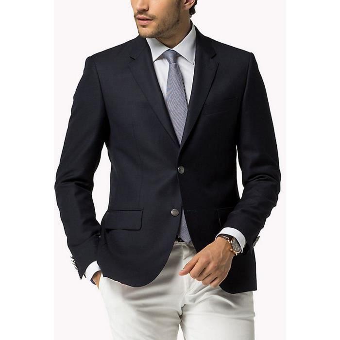 7687d701f1e09 Blazers Hommes TOMMY HILFIGER Bleu Bleu - Achat   Vente veste ...