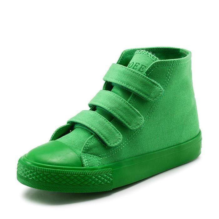 Enfants chaussures de toile blanc chaussures garçons chaussures filles chaussures de sport paternité