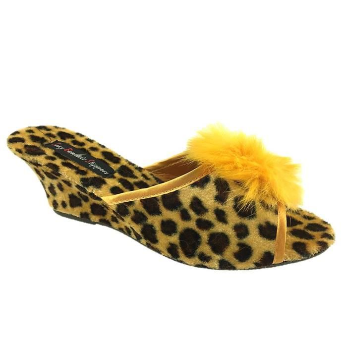 Taille 3 Taille Kb9tk 8 Mule 36 Pantoufles Mesdames Wedge qwI0ff
