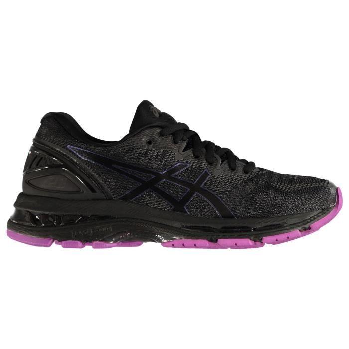 Asics Gel Nimbus 20 Wo Chaussures De Course À Pied Running Femmes Noir