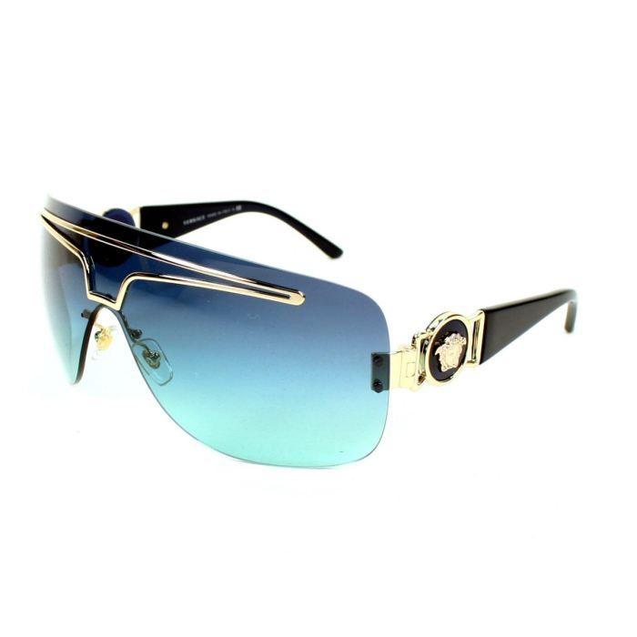 699729793dc Versace - VE2132-125245 Bleu - Achat   Vente lunettes de soleil ...