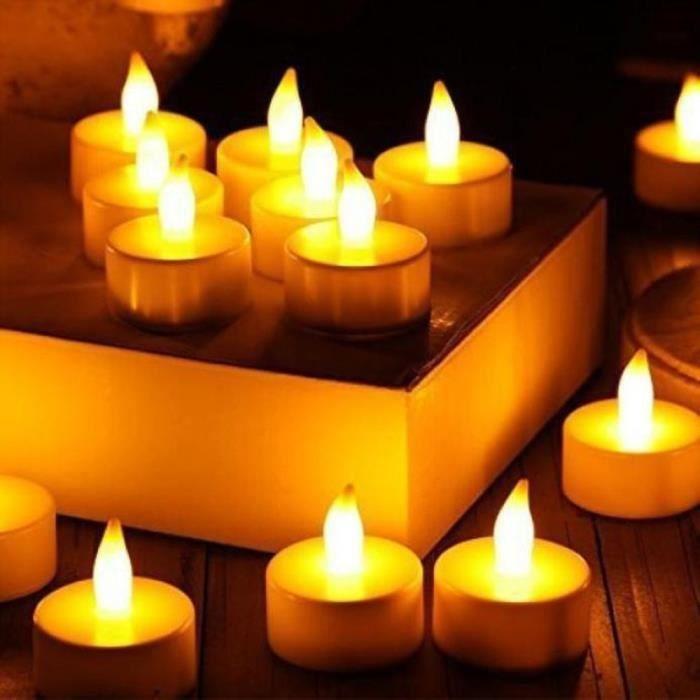 3pc Alimentée Mariage Sans Par Bougie Flammes Batterie Lumière De Led ZInf0wx