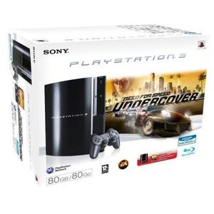 CONSOLE PS3 PACK CONSOLE SONY PS3 NFS UNDERCOVER
