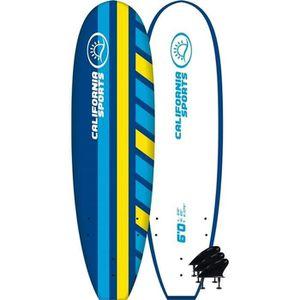PLANCHE DE SURF CALIFORNIA SPORT Planche de surf - 8 x 22 x 3,18