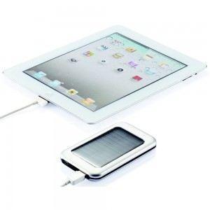 CHARGEUR - ADAPTATEUR  Chargeur solaire pour tablette Solarium Blanc